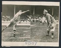 1912 SMOKEY JOE WOOD Boston Red Sox Star Vintage World Series Baseball Photo