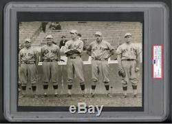 1915 Babe Ruth Rookie Type 1 Photo Taken At World Series PSA/DNA LOA Red Sox
