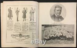 1917 World Series Program Polo Grounds New York Giants vs Chicago White Sox MLB