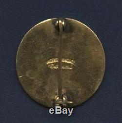 1921 World Series Press Pin-Original-First New York Yankee World Series