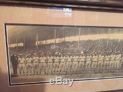 1924 1st Colored Negro League World Series Baseball Panoramic Photo Monarchs