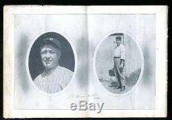 1924 World Series Program NY Giants v Washington Senators Walter Johnson 31593