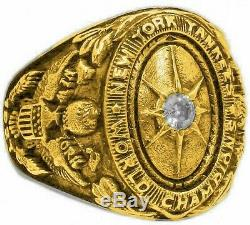 1927 Babe Ruth World Series Ring, Babe Ruth Baseball Autograph Ring