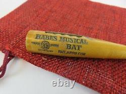 1927 Babe's Musical Bat BABE RUTH World Series New York Yankees Rare Harmonica
