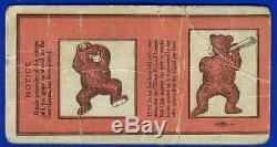 1929 World Series baseball ticket stub Philadelphia A's vs Chicago Cubs Gm 1