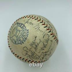 1930 Philadelphia Athletics A's World Series Champs Team Signed Baseball JSA COA