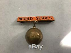 1935 Detroit Tigers World Series-Ball Pin/Charm