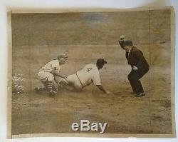 1936 Lou Gehrig Type 1 Press Photo World Series