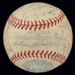 1937 New York Yankees World Series Champions Team Signed Baseball PSA DNA COA