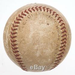 1938 JOE DIMAGGIO Game Used World Series Home Run Baseball Yankees MEARS LOA