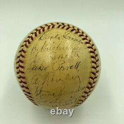 1939 New York Yankees World Series Champs Team Signed Baseball