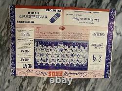 1940 Cincinnati Reds Detroit Tigers Program World Series