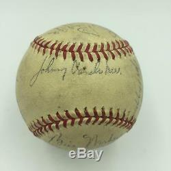 1940 Cincinnati Reds World Series Champions Team Signed NL Baseball With JSA COA
