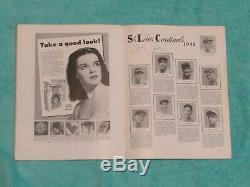1942 WORLD SERIES PROGRAM NEW YORK YANKEES v. ST LOUIS CARDINALS
