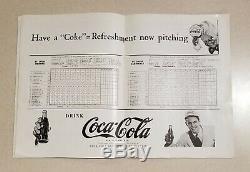 1944 World Series Program St. Louis Cardinals vs St. Louis Browns