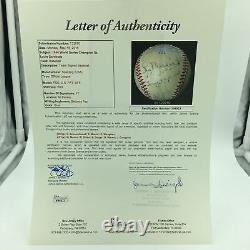 1946 St. Louis Cardinals World Series Champions Team Signed Baseball JSA COA