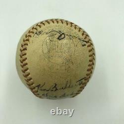 1946 St. Louis Cardinals World Series Champs Team Signed Baseball PSA DNA COA