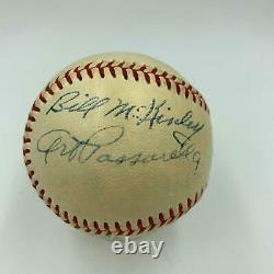 1952 World Series Game Used Signed Baseball Yankees VS Dodgers SGC COA