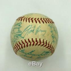 1957 Milwaukee Braves World Series Champs Team Signed Baseball With JSA COA