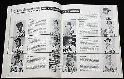 1957 World Series Program (Milwaukee County Stadium) Braves vs. N. Y. Yankees