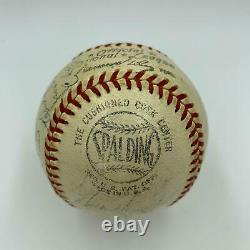 1959 Los Angeles Dodgers World Series Champs Team Signed Baseball With JSA COA