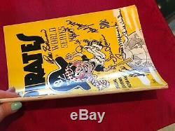 1960 World Series Program Pittsburgh Pirates Edition Signed By 8 Pirates