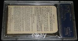 1963 World Series GAME 1 TICKET DODGERS SANDY KOUFAX 15 K'S STRIKEOUTS PSA 4