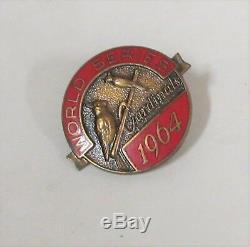1964 St. Louis Cardinals World Series Press Pin NYY New York Yankees (29th)