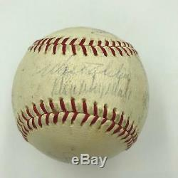 1965 Los Angeles Dodgers World Series Champs Team Signed NL Baseball JSA COA
