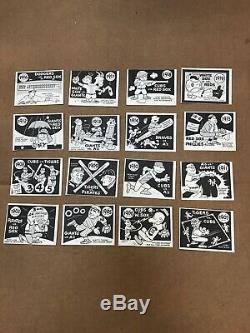 1967 Fleer Laughlin World Series Set Complete 64 Cards