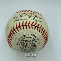 1968 Detroit Tigers World Series Champs Team Signed Baseball 29 Sigs JSA COA