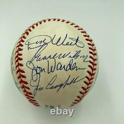 1968 Detroit Tigers World Series Champs Team Signed Baseball With JSA COA