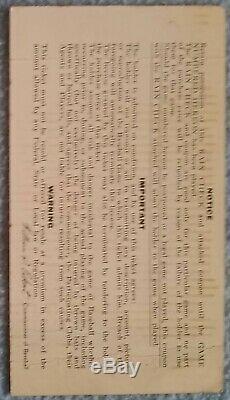 1968 World Series Ticket stub Game 6 Cardinals v Tigers Busch Stadium SRO McLain