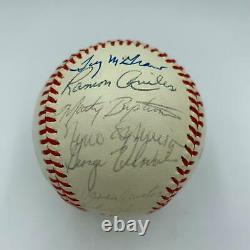 1980 Philadelphia Phillies W. S. Champs Team Signed World Series Baseball JSA