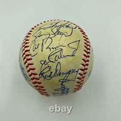 1983 Baltimore Orioles World Series Champs Team Signed Baseball Cal Ripken JSA