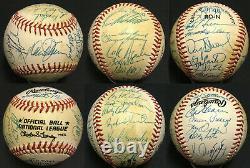1986 Mets World Series Team signed NL Baseball 30 auto Gary Carter PSA/DNA LOA