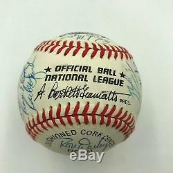 1986 New York Mets World Series Champs Team Signed National League Baseball