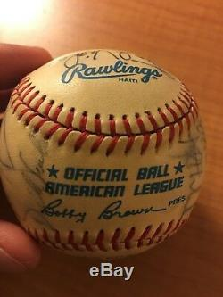 1987 Minnesota Twins Autographed Signed Baseball World Series Kirby Puckett +20