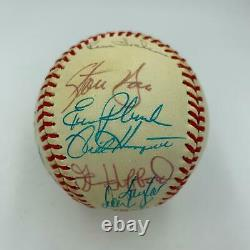 1989 Oakland A's Athletics World Series Champs Team Signed WS Baseball PSA DNA