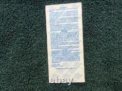 1989 World Series Ticket Stub. Game 3. Earthquake Game. Good condition