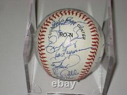 1990 Cincinnati REDS WORLD SERIES TEAM Signed Official NL Baseball Beckett LOA