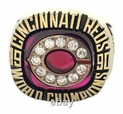 1990 Cincinnati Red World Series Champions MLB Baseball Championship Ring