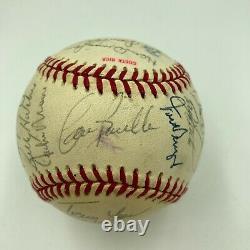 1990 Cincinnati Reds World Series Champs Team Signed NL Baseball With COA
