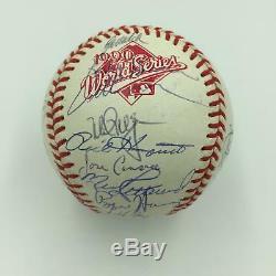 1990 Oakland A's Athletics Team Signed World Series Baseball Mark Mcgwire