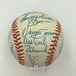 1991 Atlanta Braves NL Champs Team Signed Official World Series Baseball PSA DNA