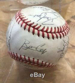 1991 Atlanta Braves Team Signed World Series Baseball Autographed Authentic