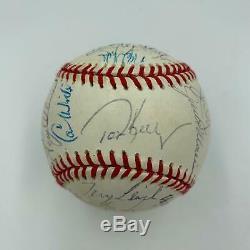 1991 Minnesota Twins World Series Champs Team Signed Baseball 31 Sigs JSA COA