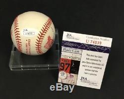 1992 World Series Baseball Autographed x5 Toronto Blue Jays Dave Winfield + JSA
