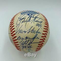 1993 Philadelphia Phillies NL Champs Team Signed World Series Baseball JSA COA
