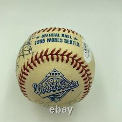1995 Atlanta Braves World Series Champs Team Signed Baseball With JSA COA